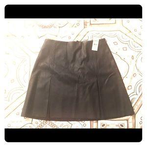 Express Leather mini skirt size 2.